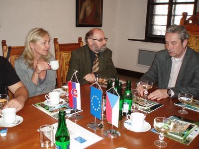 Účasť členov ÚV SZOPK na otvorení projektu vo Valašskom Meziříčí
